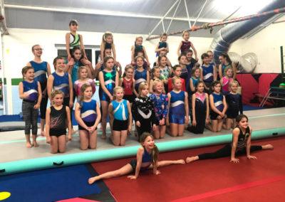 Axminster Gymnastics squad